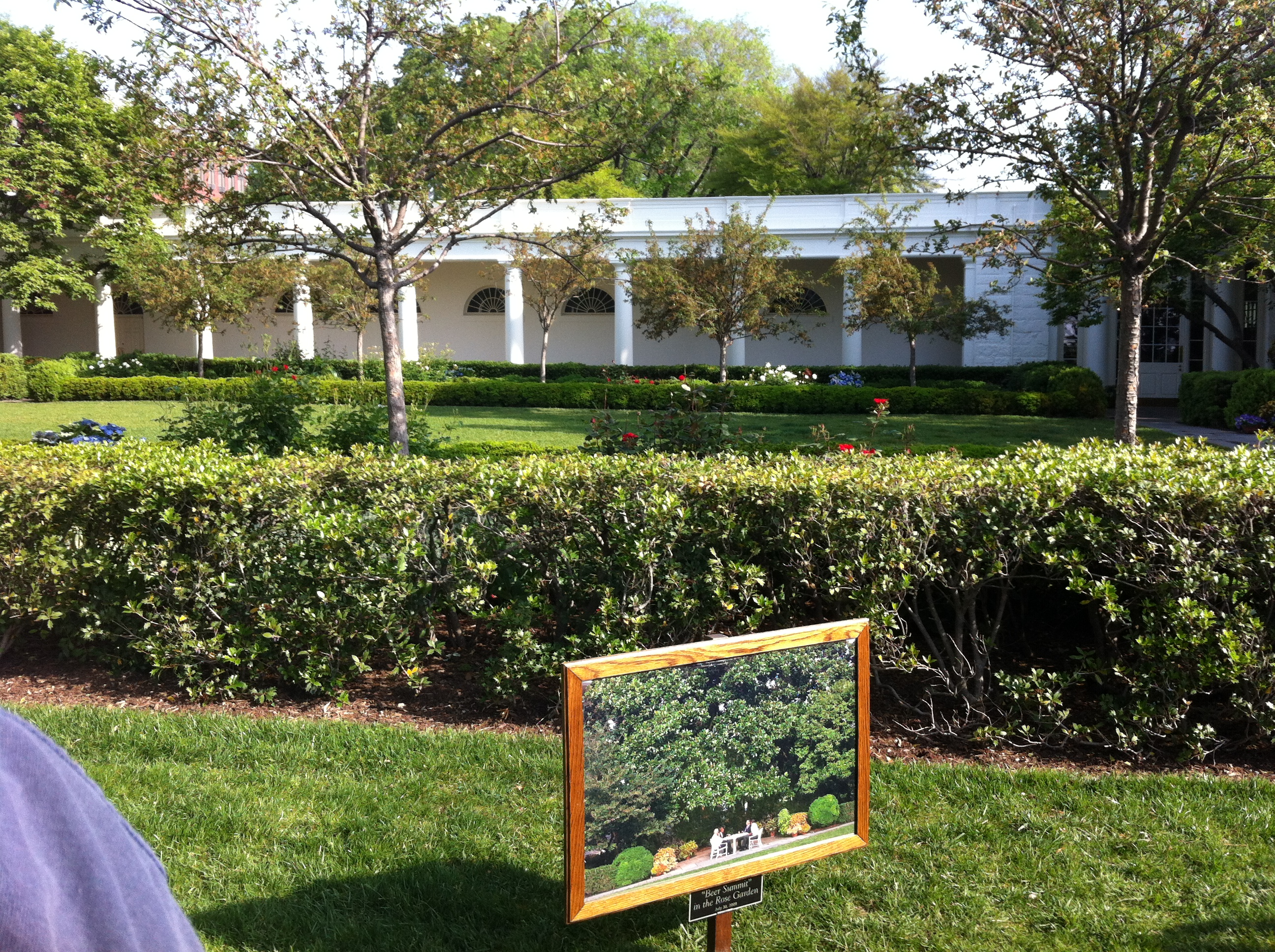 The white house rose garden brobrubel 39 s blog for House garden pictures