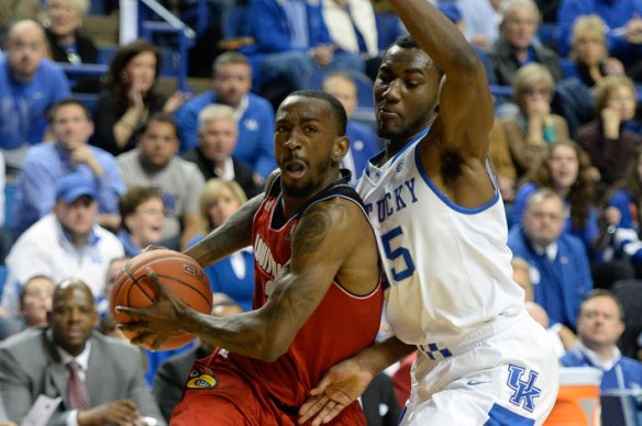 NCAA Basketball: Louisville at Kentucky