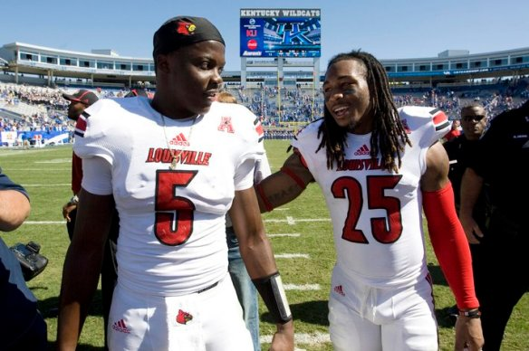 NCAA Football: Louisville at Kentucky